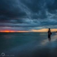 Alone by the Gulf