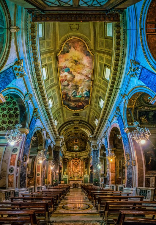 Architecture and Frescos