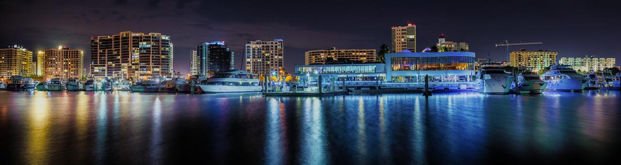 Sarasota Skyline at Night