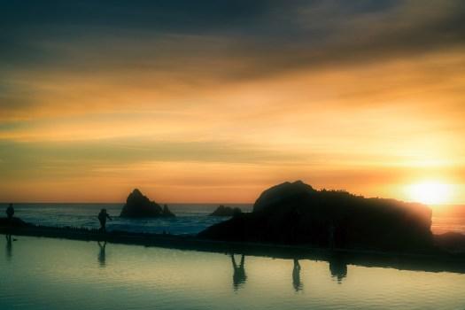 Baths at Point Lobos