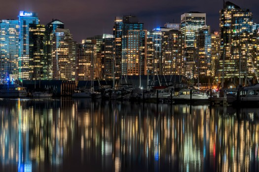 Lights of Coal Harbour