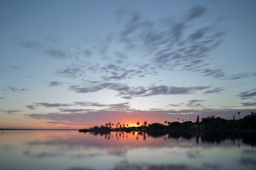 Sunrise on the Manatee