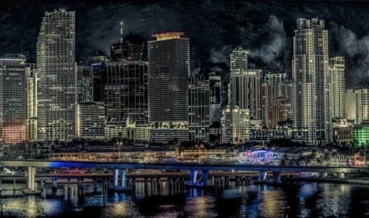 The big city of Miami