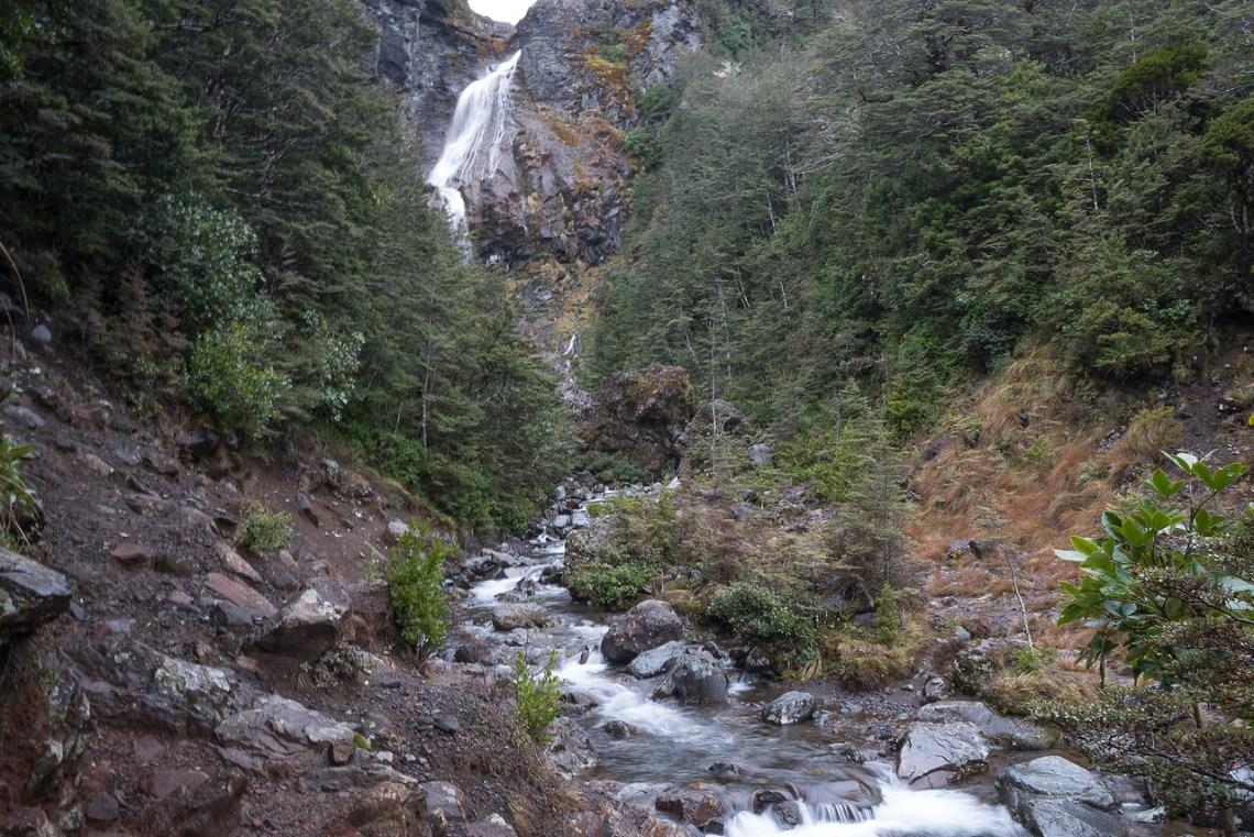 Waitonga Falls on Mt. Ruapehu near Ohakune