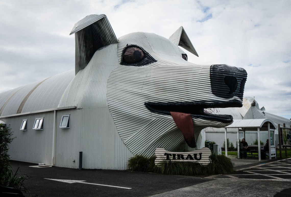 The Big Dog in Tirau