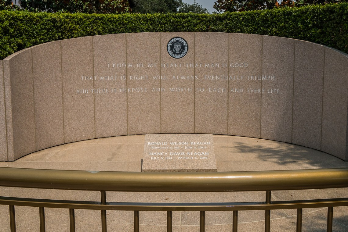 Memorial Site for Ronald and Nancy Reagan
