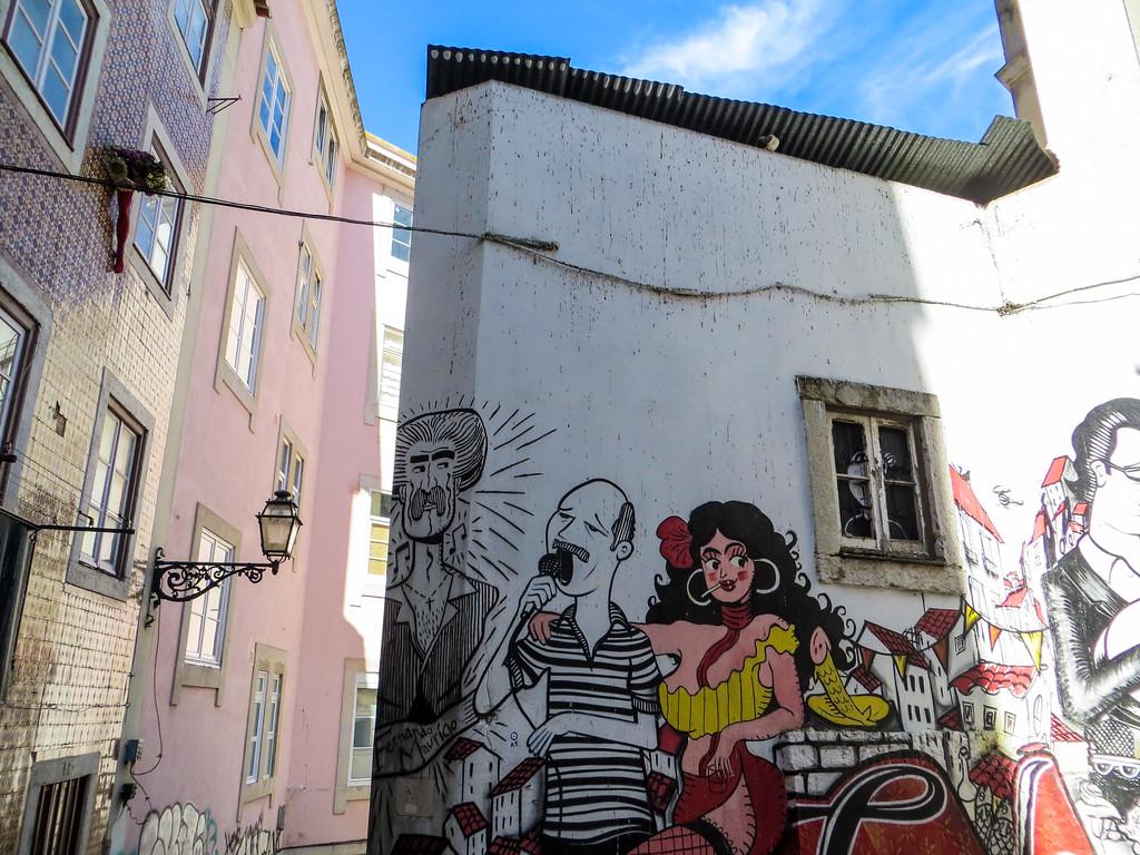 Solo travelers in Lisbon will appreciate the street art.