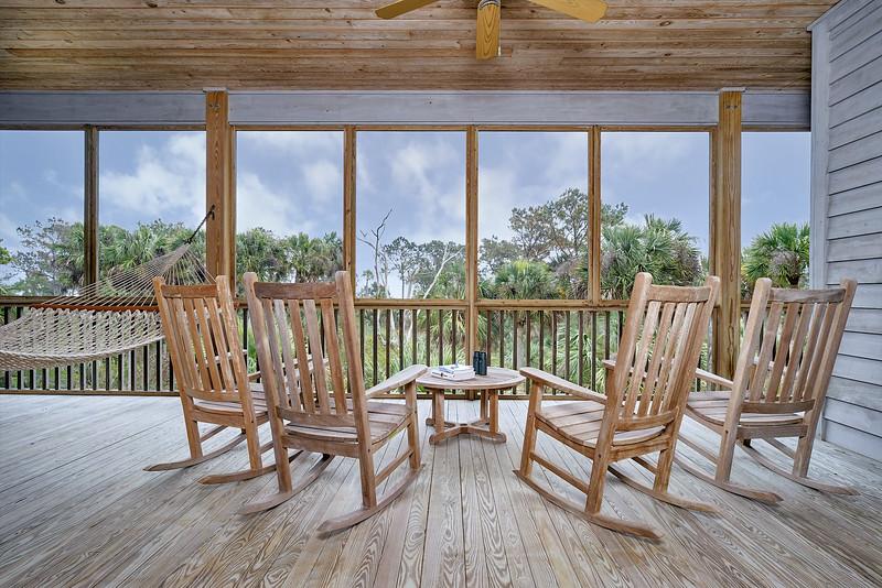 dewees island porch