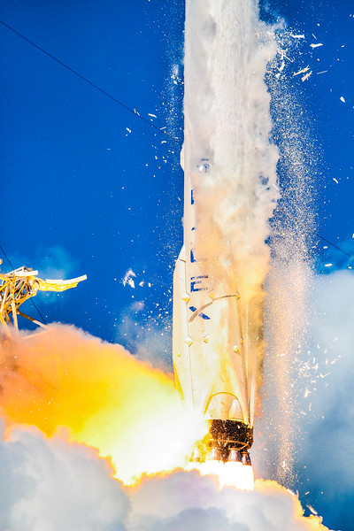 Liftoff of the Falcon 9