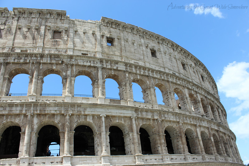 Another photo of the Colosseum on a beautiful day!