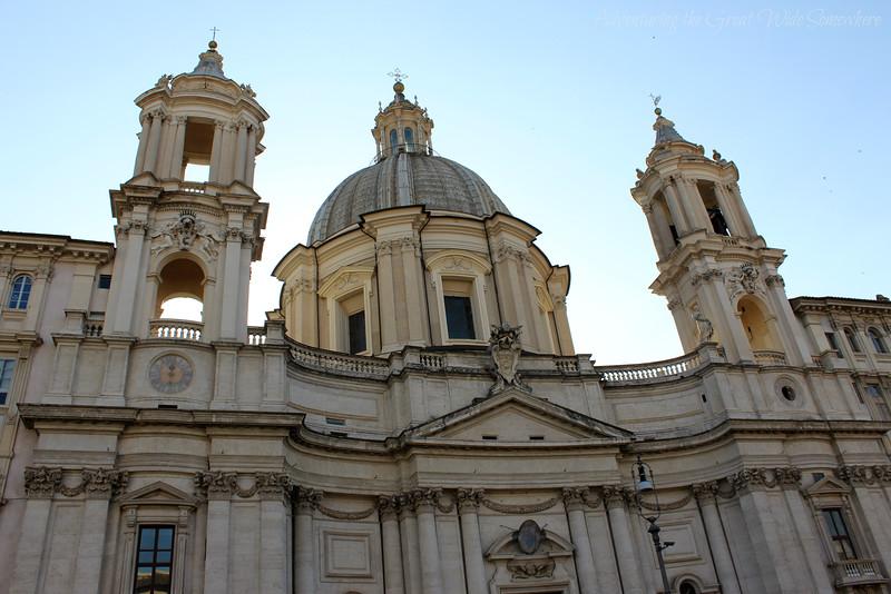 Church in Piazza Navona