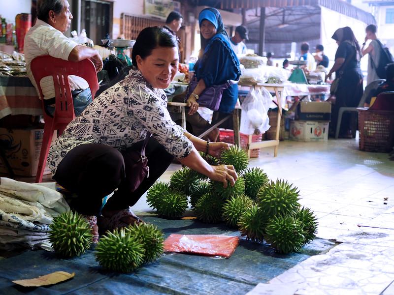 Keningau night market