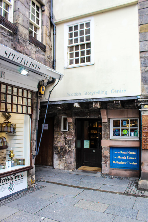 edinburgh's literary sites