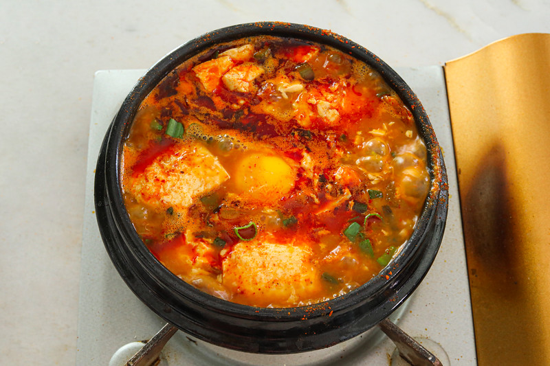 The BEST Korean Silken Tofu Soup Recipe