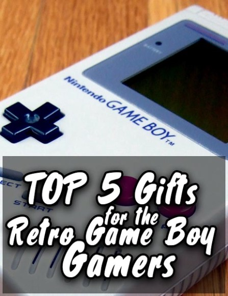 top 5 gifts for the retro game boy gamers