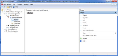 Windows Azure Staging