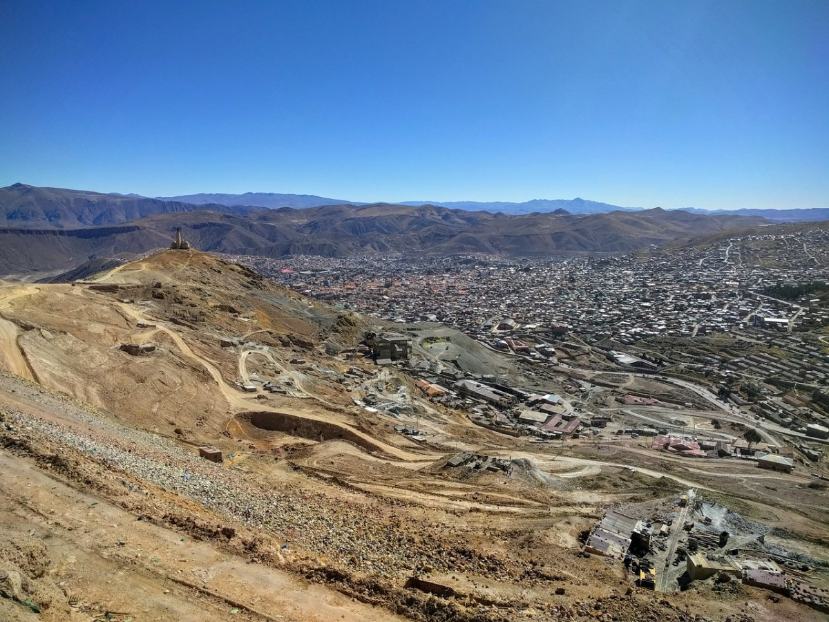 The City of Potosí Seen From Cerro Rico