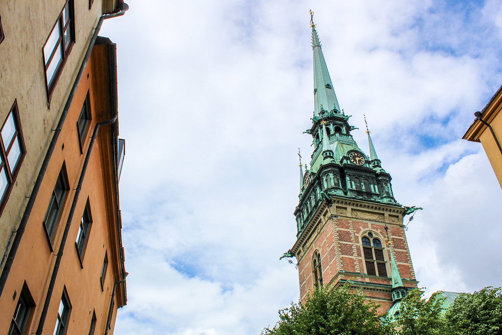 visiting stockholm in july was beautiful