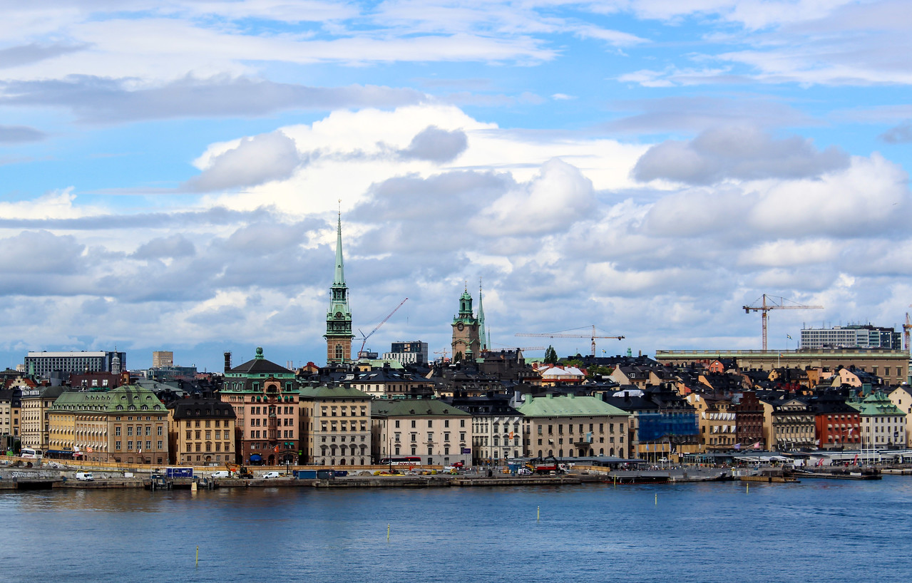 Go on the water for a lovely Stockholm experience