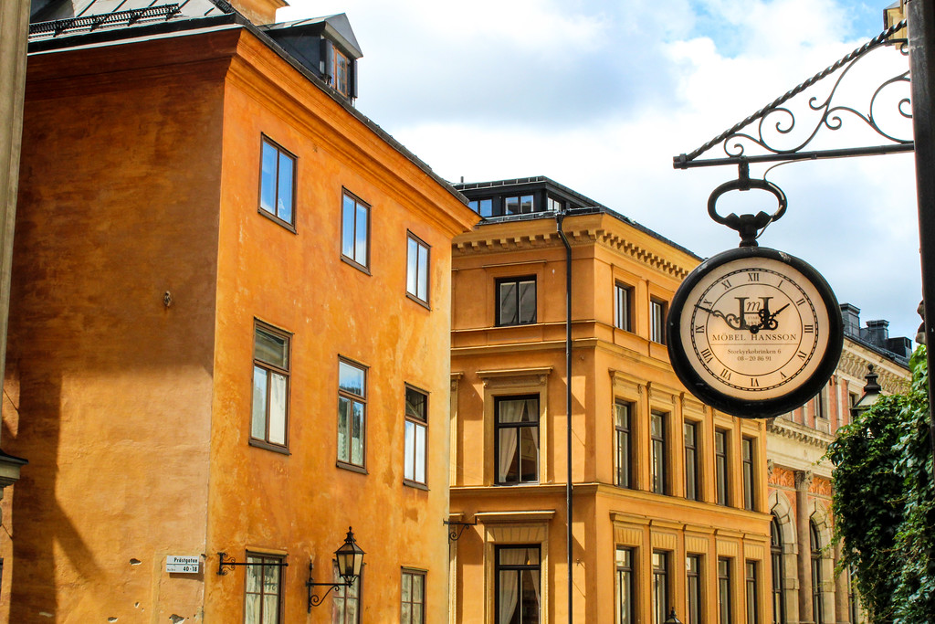 Discover unique experiences Stockholm by getting lost in the Old Town