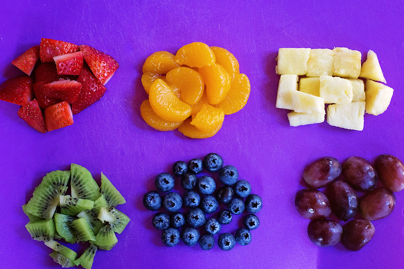 ingredients for breakfast parfait