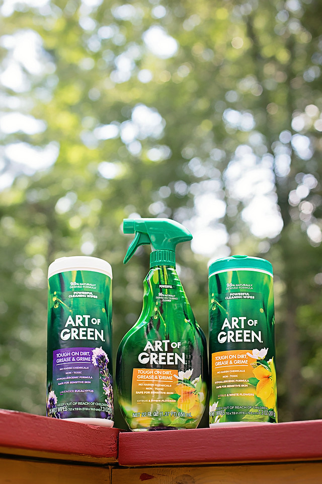 #ad Art of Green cleaning products are essential in our two (almost three) kid, three dog, one cat household, and this is why! #TheMessIsReal