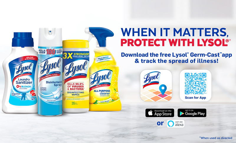 #sponsored Here are 5 Ways To Manage Your House During The Pandemic, including being in the know with the helpful Lysol Germ-Cast™ app.
