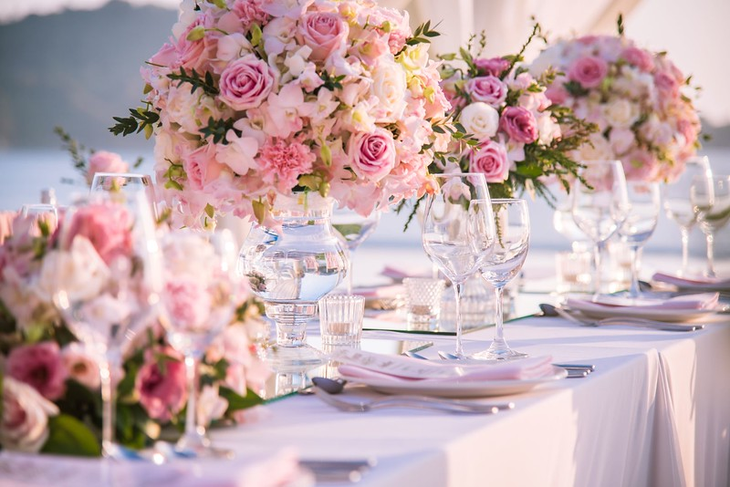 What To Consider Before Designing Your Wedding Tablescapes. Tablescaping, or table-setting, is an artful activity that involves making themed table decorations for various social occasions, such as a wedding.