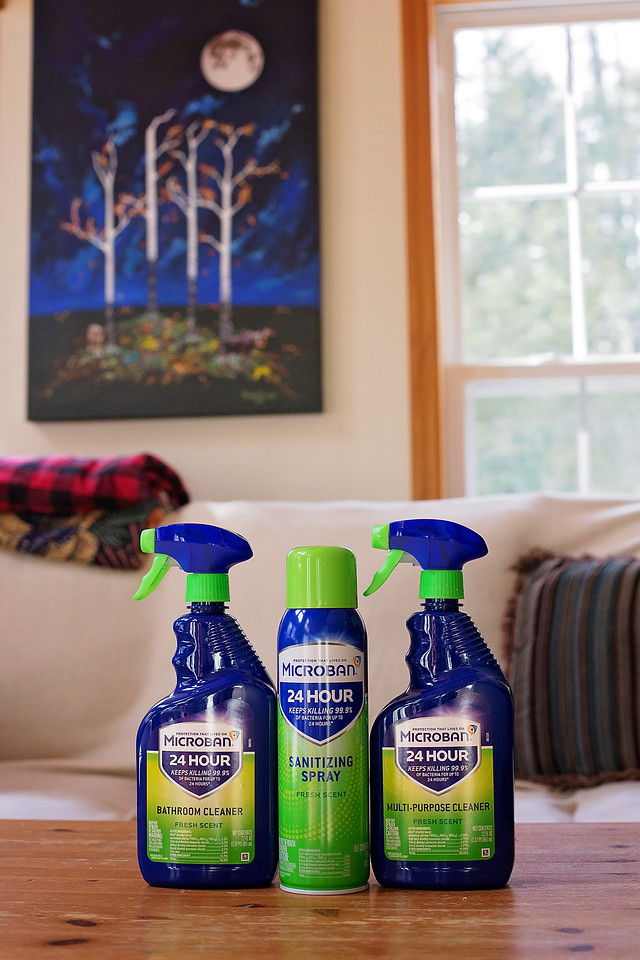 #Microban24Partner Protect your home from germs and bacteria with Microban 24, a game-changing antibacterial home sanitizing product that keeps surfaces protected from the spread and growth of bacteria for 24 hours when used as directed! @Microban24 #ProtectionThatLivesOn