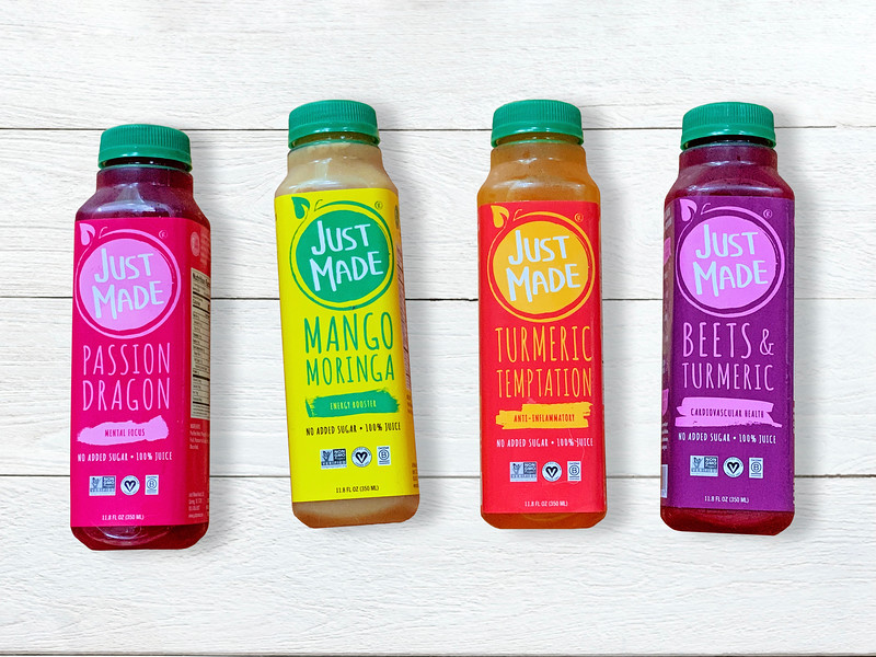The juices have half the calories and sugar of other leading juice brands
