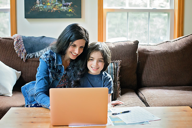 #ad It's been an unexpected time for our us, with benefits too. 5 silver linings to schooling at home! #MentalHealth #OnlineLearning #LearningWithoutLimits