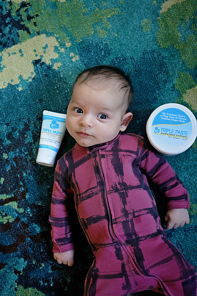 #AD Triple Paste Diaper Rash Cream is my absolute go to diaper rash cream. See why, and also enter a giveaway! #TriplePaste #TriplePasteRelief