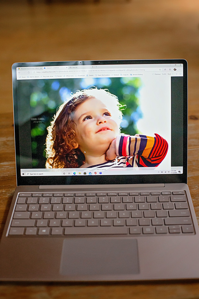 #AD The Surface Laptop Go is the perfect one computer for the whole family to use, for remote learning and working and fun as well!