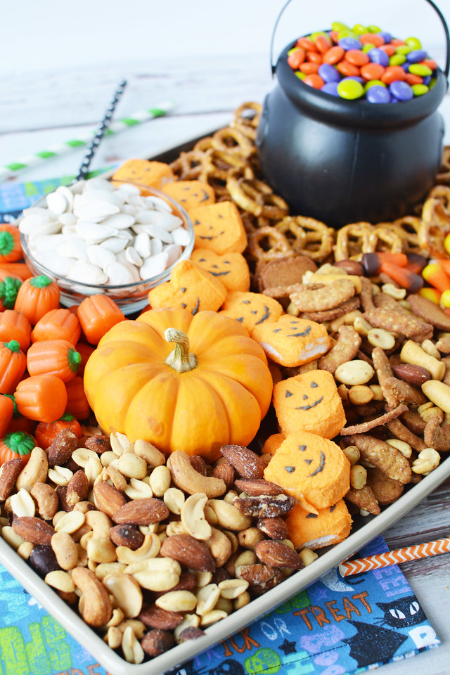 I love all things charcuterie, and this Halloween Trick or Treat Charcuterie/Grazing Board is perfect to make this year's Halloween special.