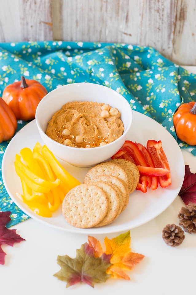 Make this Easy Pumpkin Hummus Recipe to celebrate all things fall. It's got the perfect mix of flavor and spices - and is perfect for parties