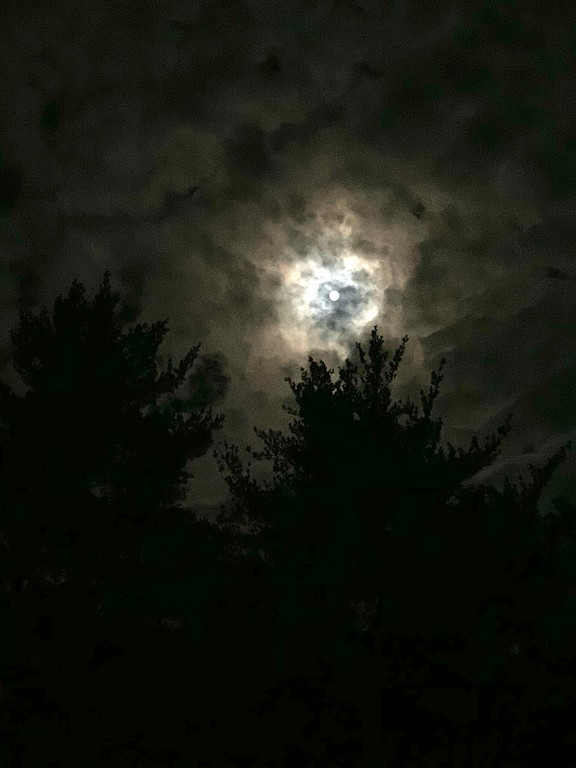 the full moon in October