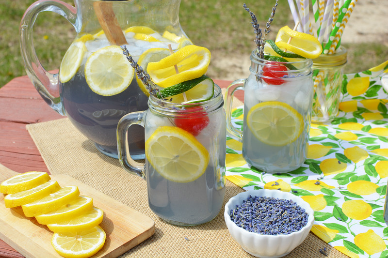 #ad This Lavender Lemonade with Lime is the perfect recipe to pour into an ice cold pitcher and serve with a delicious brunch. #atoranibrunch @ToraniFlavor