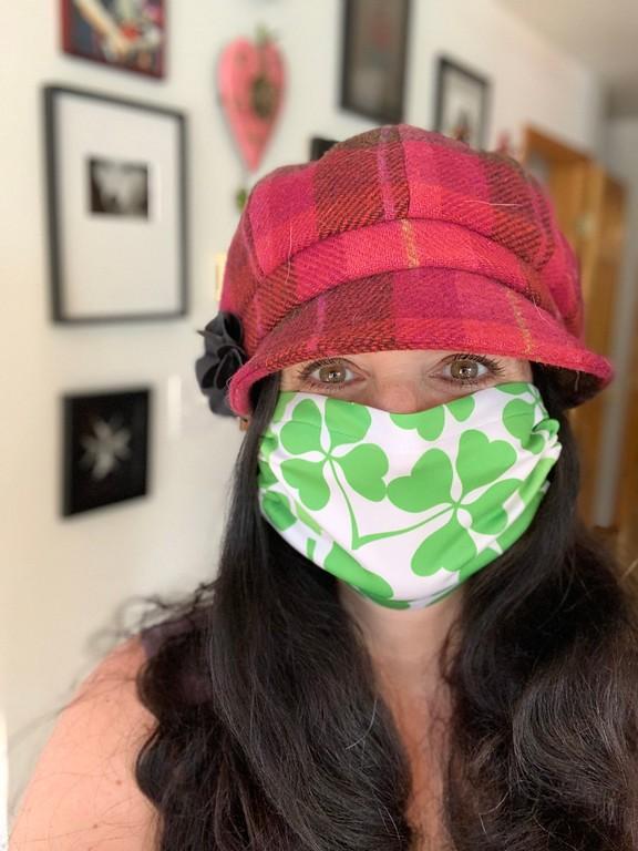 St. Patrick's Day masks