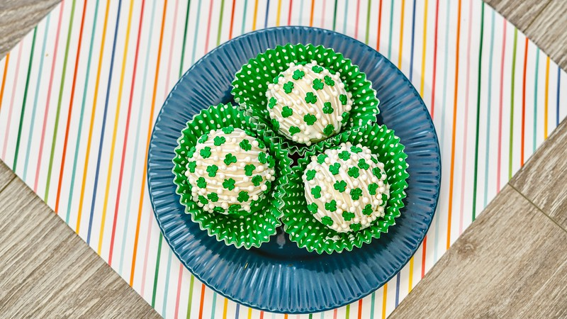 Make this delightful St. Patrick's Day Hot Chocolate Bombs Recipe for St. Patrick's Day. They are easy to make and are super fun to enjoy.