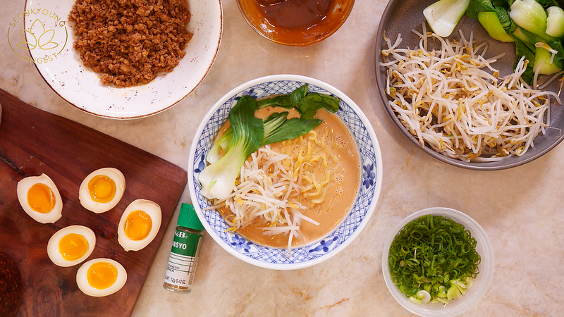 10-Minute EASY Tantanmen Ramen Recipe