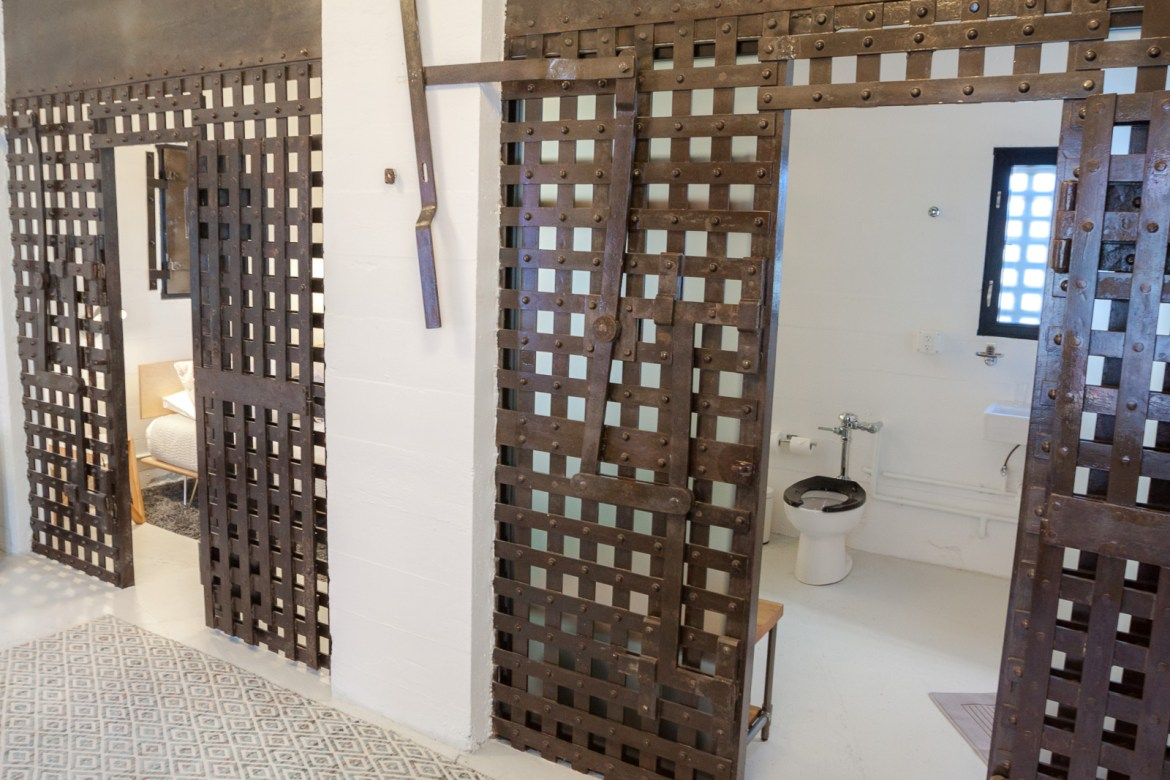 Ever heard of a luxury jail? Check out The Cell Block, a unique boutique hotel in north east Texas for a fun night escaping reality! | www.eatworktravel.com - The luxury, adventure travel couple!