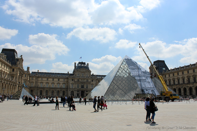 The Louvre Pyramids, May 2016
