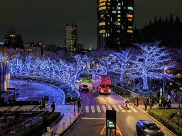 Tokyo Midtown Winter Illumination