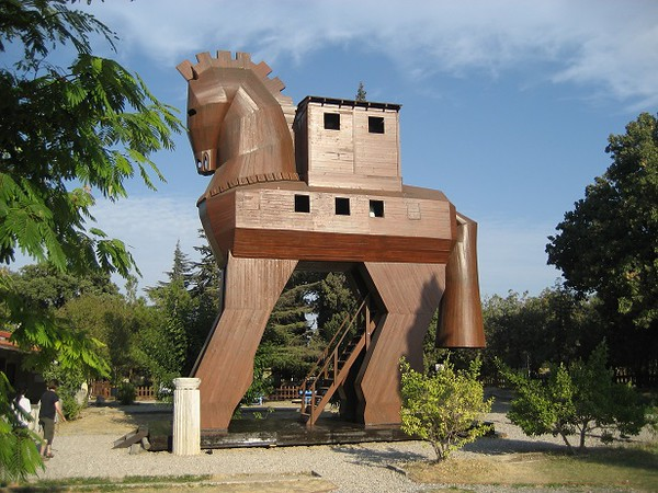 City of Troy Trojan Horse