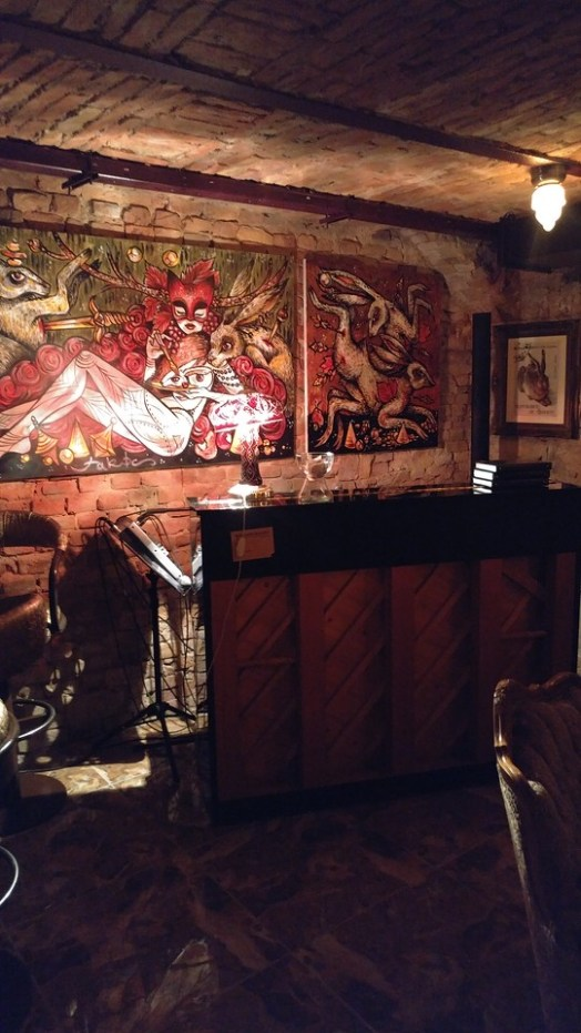 Drinking at Her Majesty The Rabbit Budapest : Another great