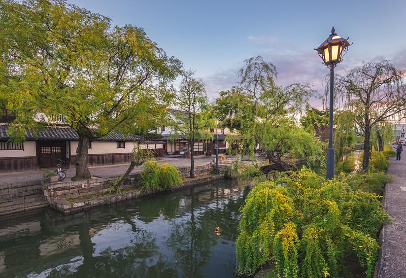 The Kurashiki Bikan Canal