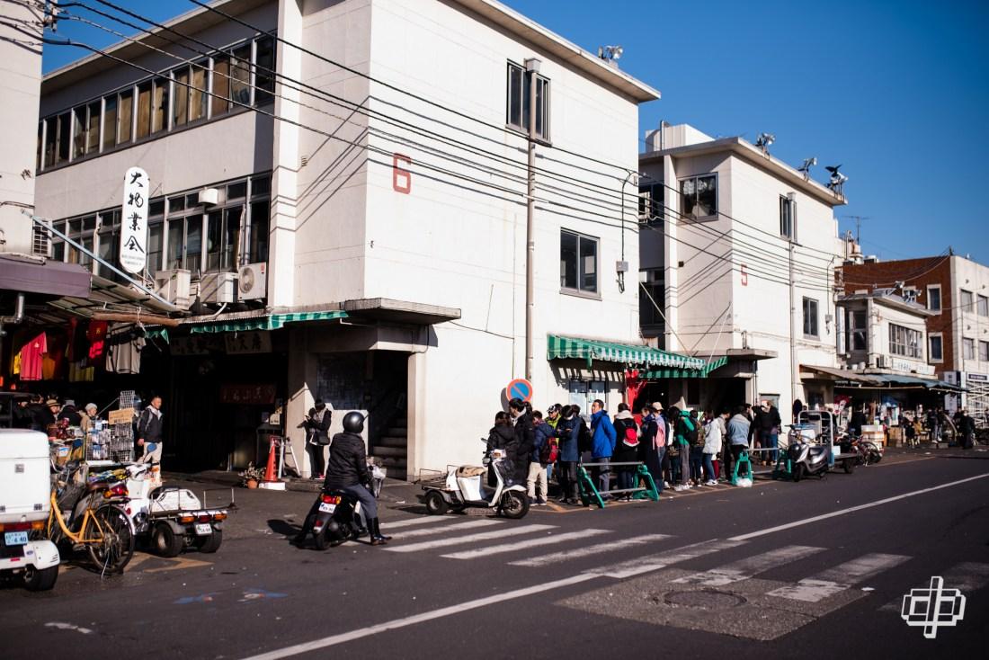sushi dai tsukiji fish market journey to tokyo 2017 dtphan