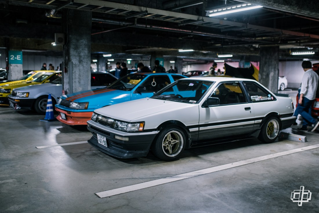 ae86 hachiroku fresh tokyo car meet 2017 dtphan