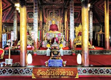 Wat Nantaram – Shan Style, Teak Temple