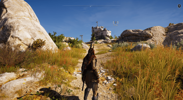 Kleptous Lookout assassin's creed odyssey kephallonia island